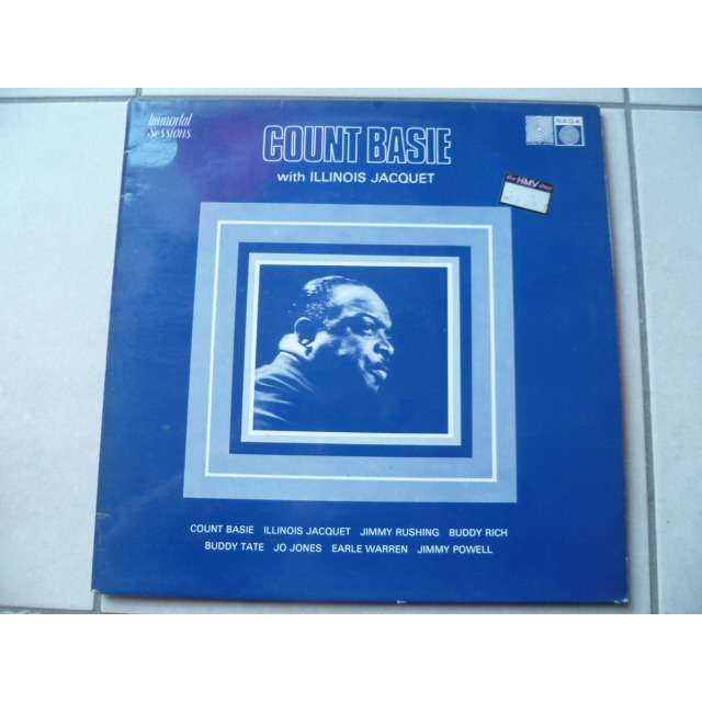 count basie with illinois jacquet
