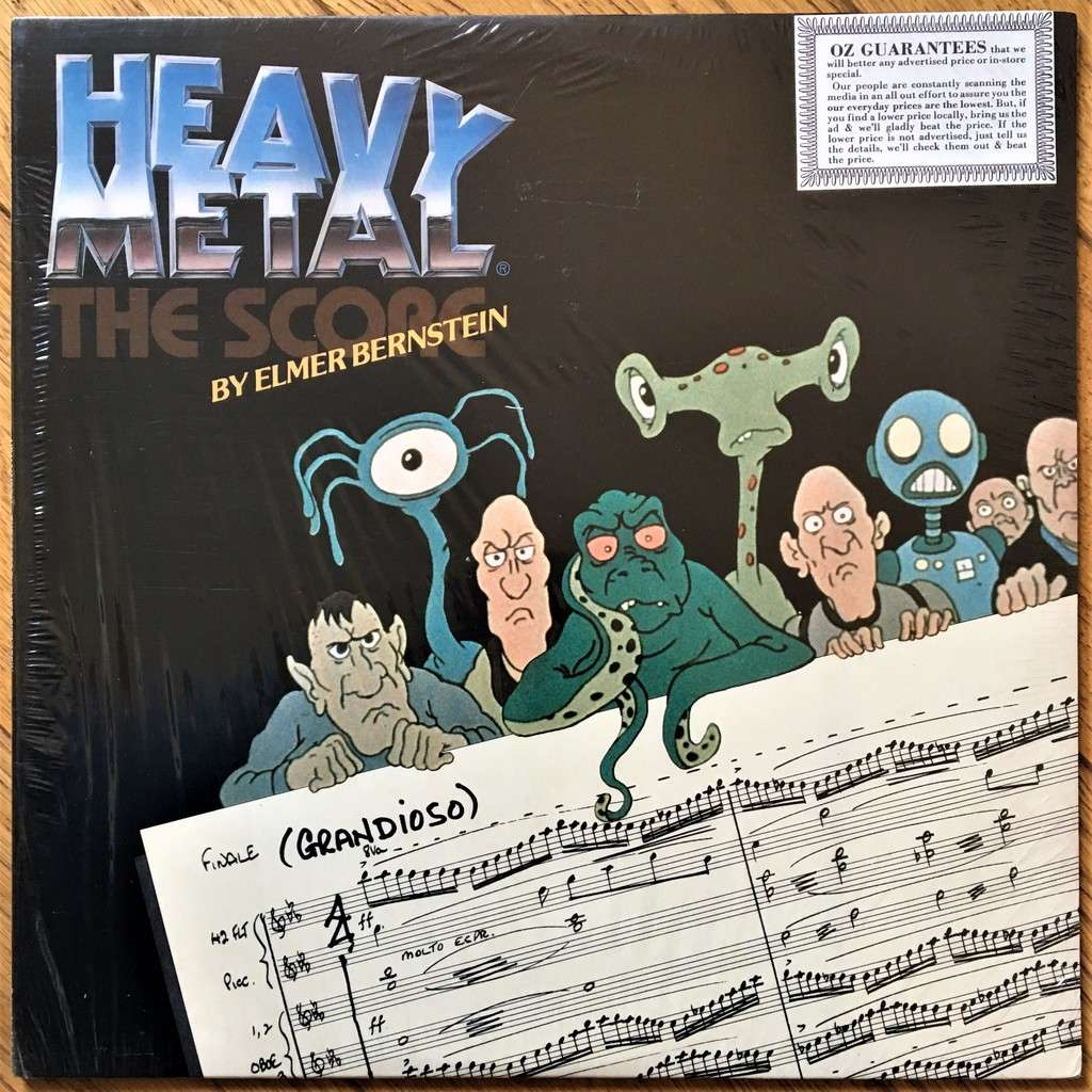 Elmer Bernstein Heavy Metal - The Score