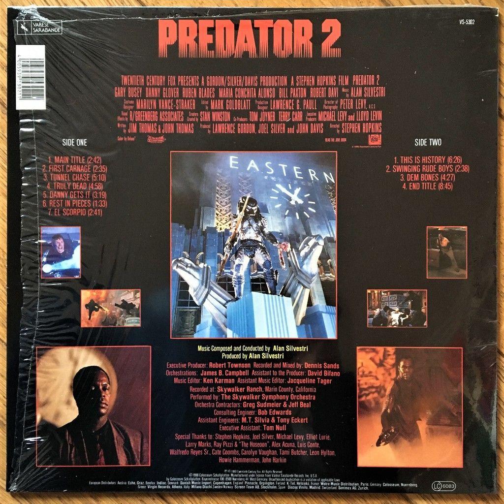 Alan Silvestri Predator 2