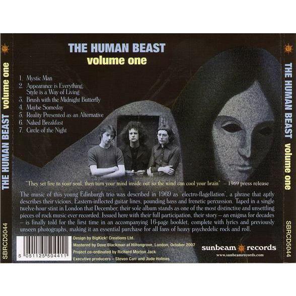 The Human Beast Volume One