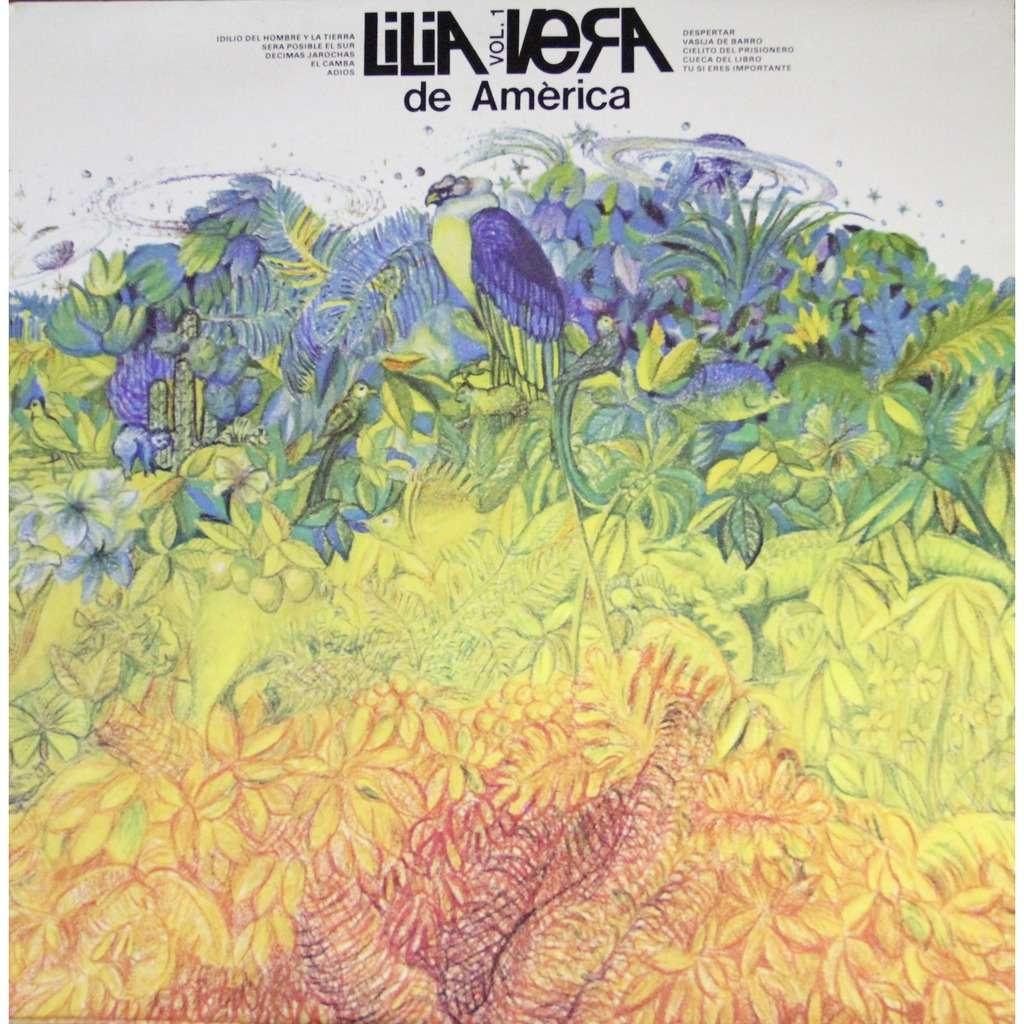 Lilia Vera De America Volumen 1