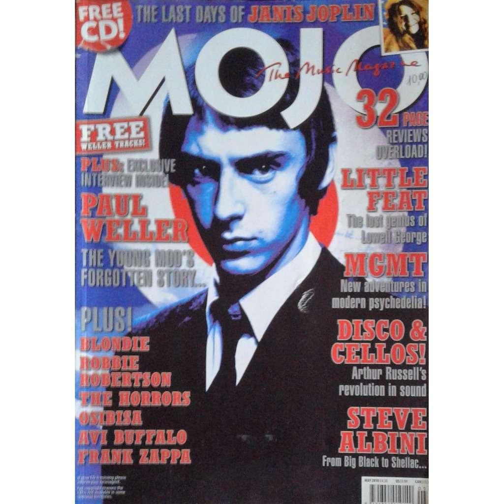 The Jam / Paul Weller Mojo (N.198 May 2010) (UK 2010 Paul Weller front cover magazine!!)