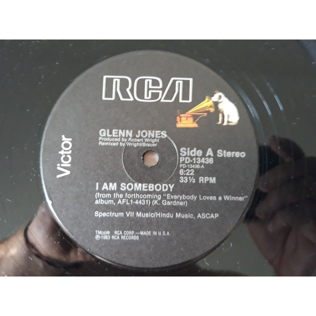 Glenn Jones - I Am Somebody (12) I Am Somebody (Instrumental)1983