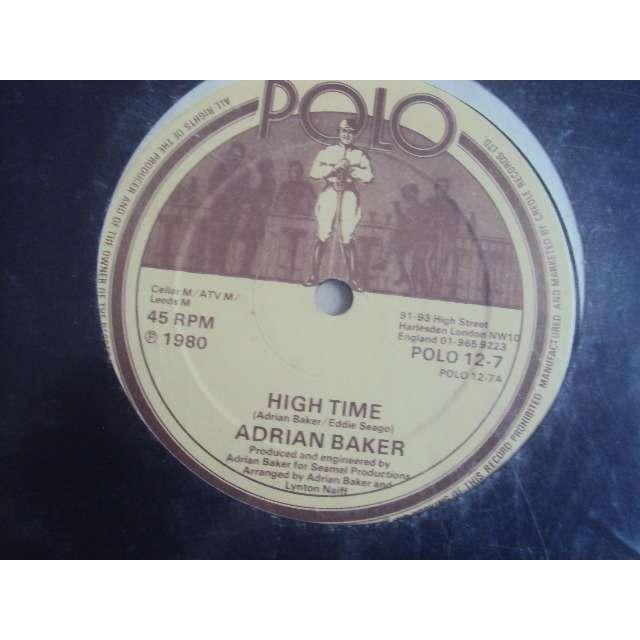 adrian baker high time 1980 UK