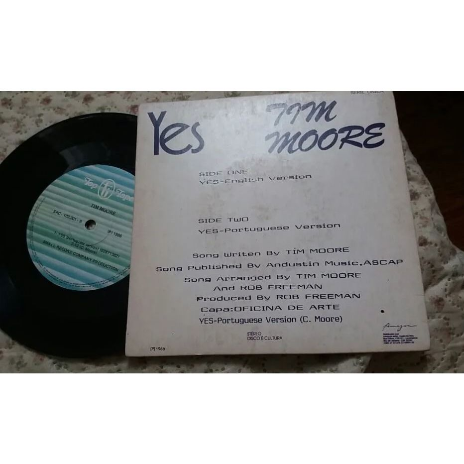 TIM MOORE YES REMIX VERSION AND PORTUGUESE VERSION