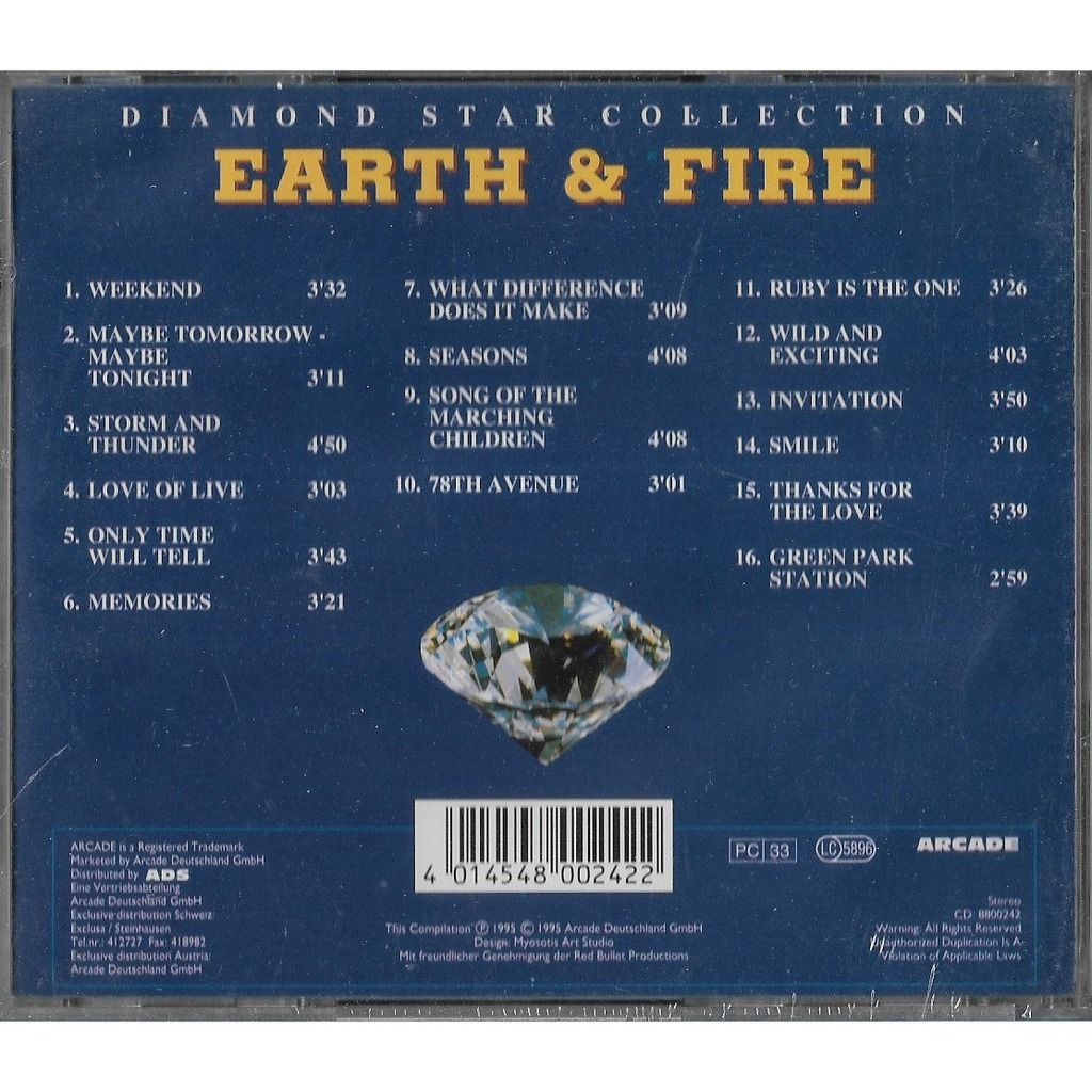 Earth & Fire Diamond Star Collection