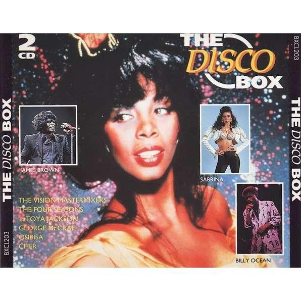 Vision Mastermixers, Donna Summer, Sabrina, Cher The Disco Box