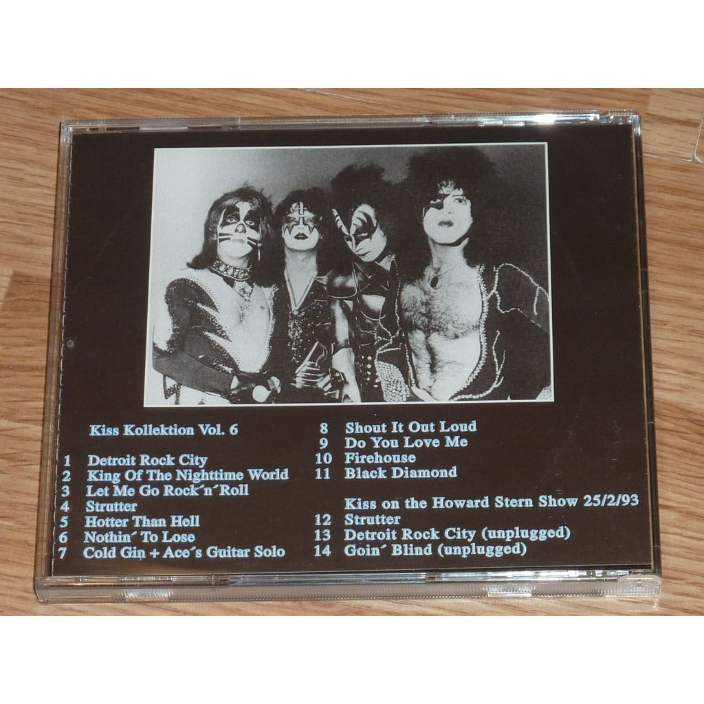 KISS KOLLEKTION VOL.6 CD