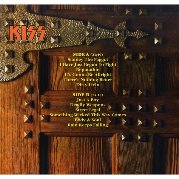 KISS WHAT GOES ON BEHIND CLOSED DOORS LP