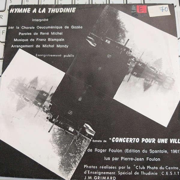 Chorale Oeucumenique de Gozee Hymne A la Thudinie