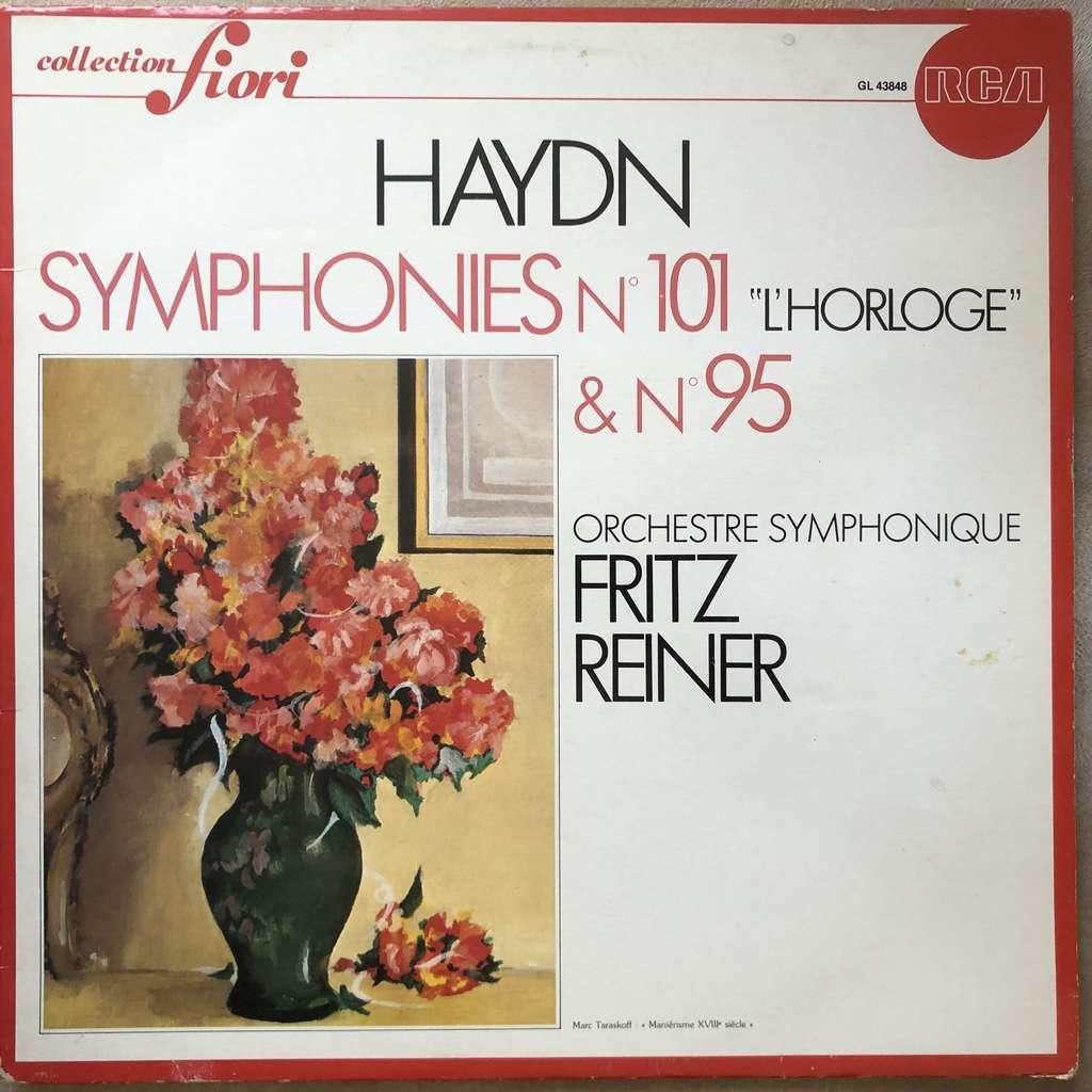 HAYDN / Fritz REINER Symphonies N° 95 & 101