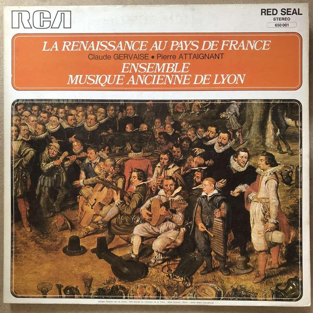 Ensemble muique ancienne de Lyon, François Castet La Renaissance au pays de France