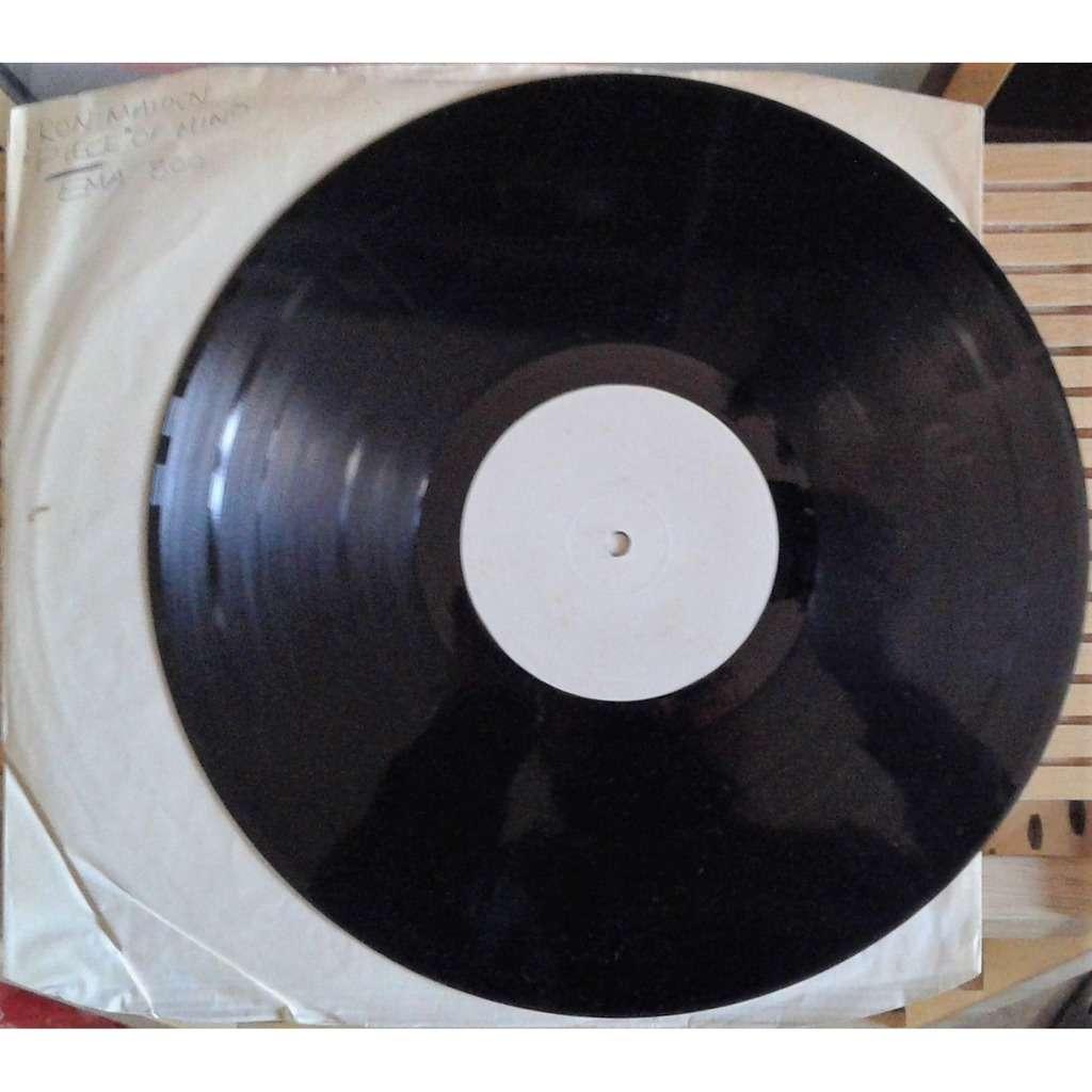 Iron Maiden Piece Of Mind (UK 1983 original w/label 9-trk LP TEST PRESSING hand-written title slv)