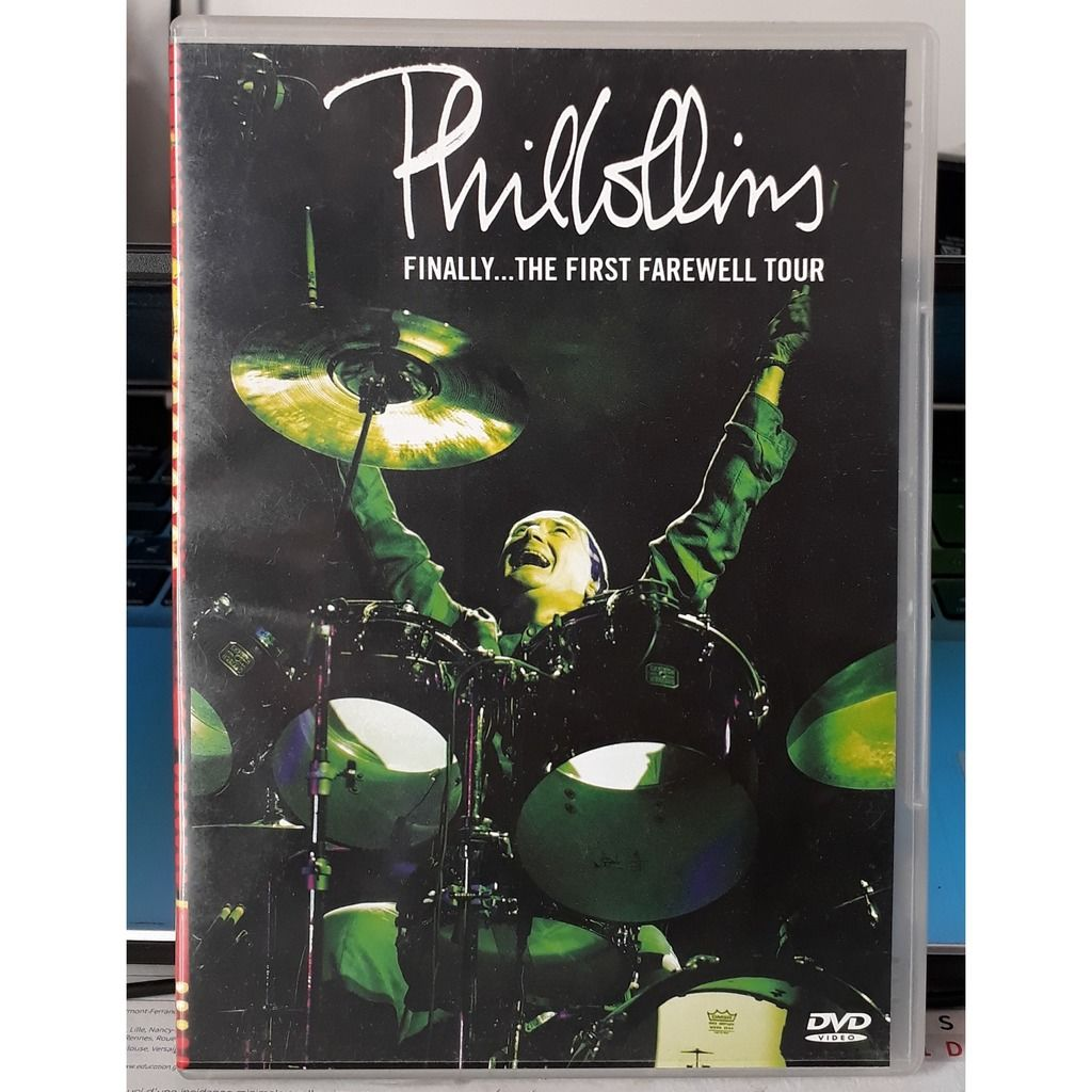 Phil Collins finally... the first farewell tour