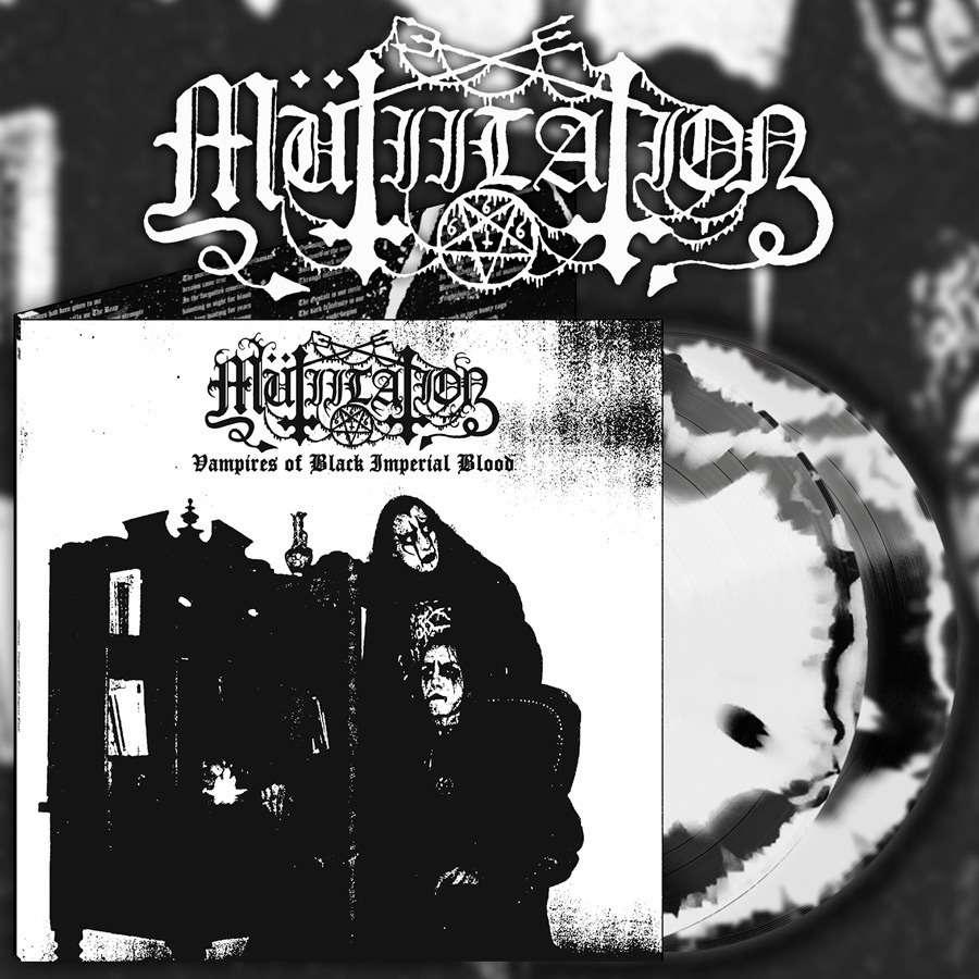 MUTIILATION Vampires of Black Imperial Blood. Swirl Vinyl