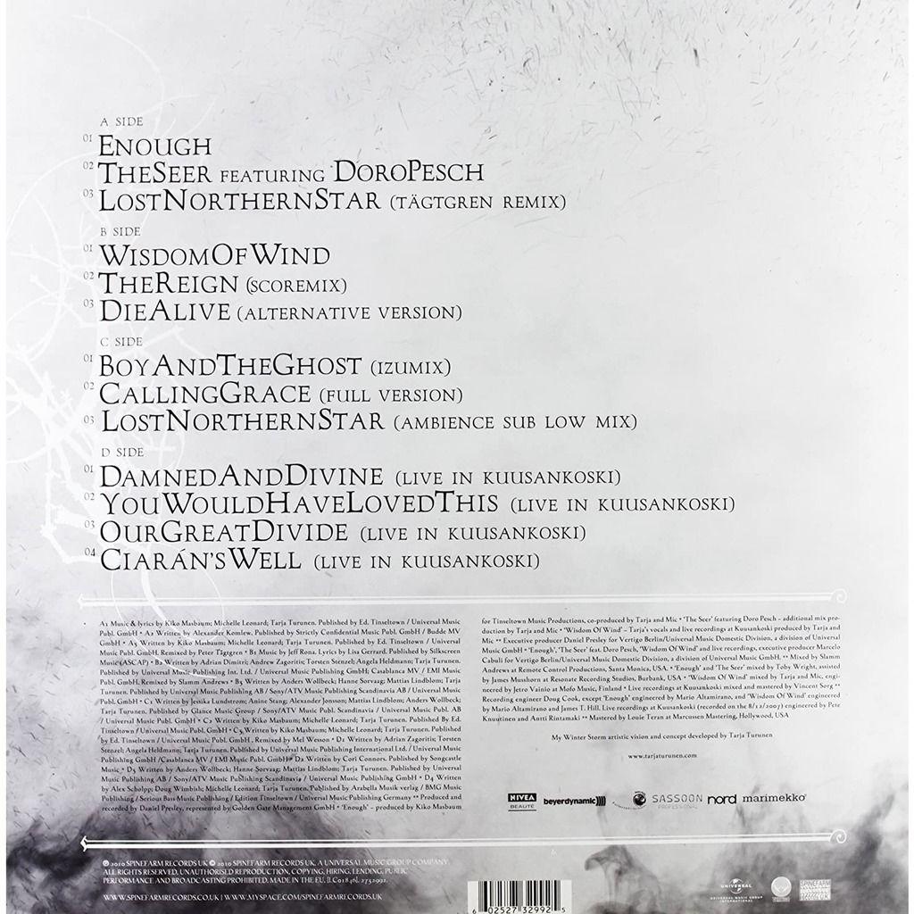 Tarja The Seer EP (2xlp) Ltd Edit Green Vinyl -E.U
