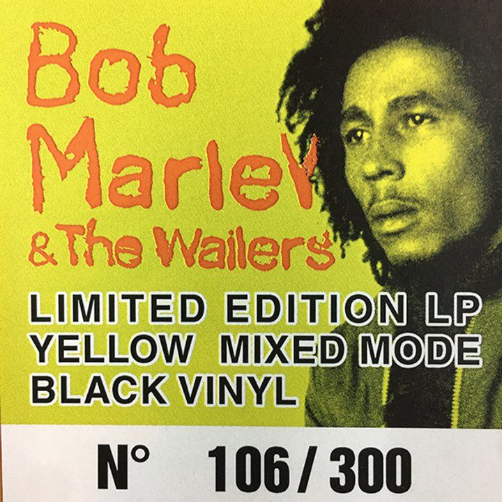 BOB MARLEY CAN'T BLAME THE YOUTH LP