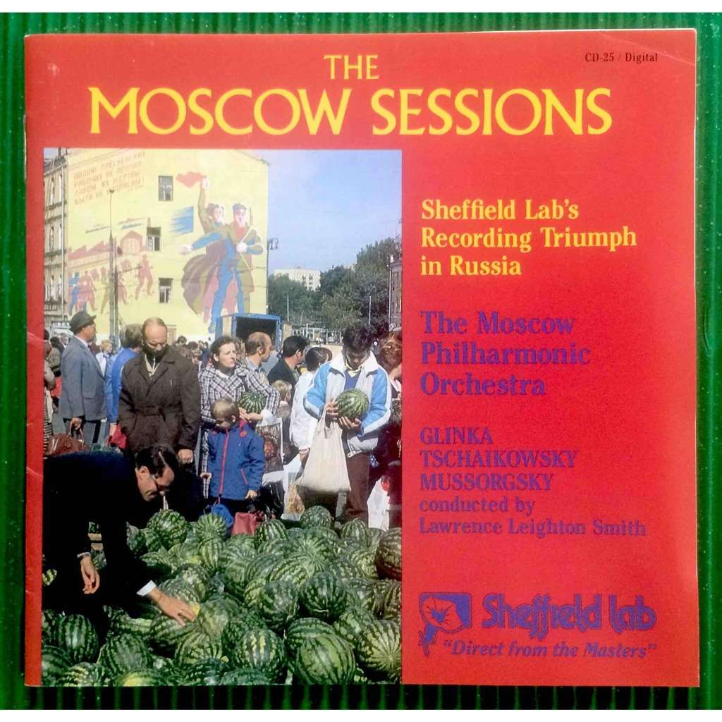 The Moscow Philharmonic Orchestra Vol. 1 The Moscow Sessions / Glikke-Tschaikowsky-Mussorgky