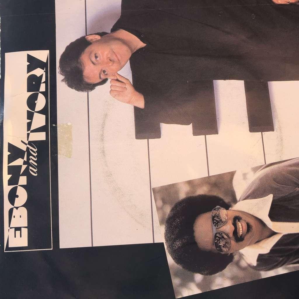 paul mccartney & stevie wonder Ebony and Ivory