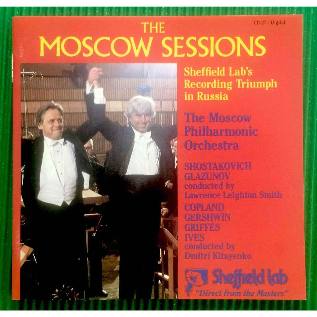 The Moscow Philharmonic Orchestra The Moscow Sessions Vol. 3 / Lawrence Leighton Smith