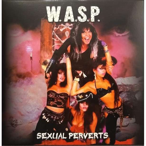 W.A.S.P. Sexual Perverts (lp) Ltd Edit Yellow Vinyl -Fr