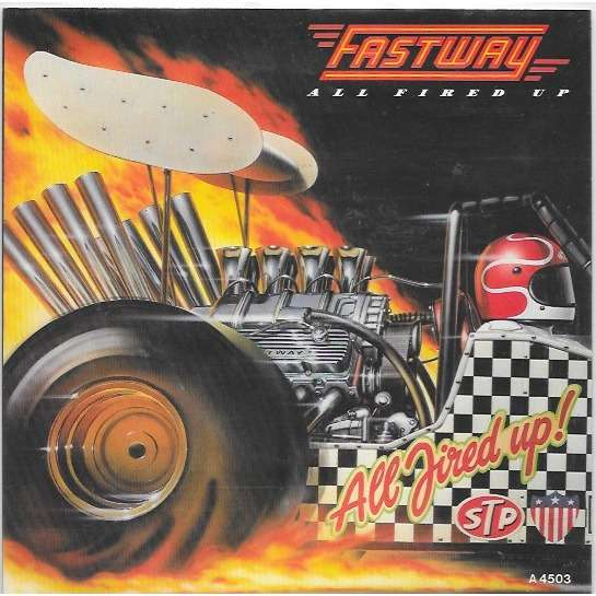 Fastway All Fired Up / hurting' me