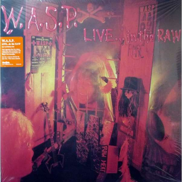 W.A.S.P. Live... In The Raw (2xlp)