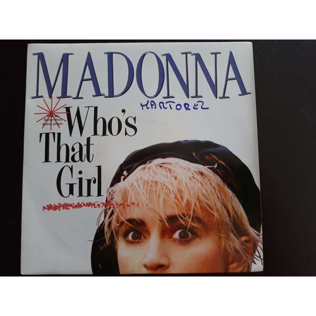 Madonna - Who's That Girl (7, Single) Madonna - Who's That Girl (7, Single)