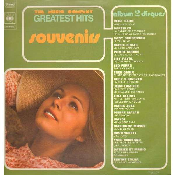 Chansons Compilation The Music Company Greatest Hits - Souvenirs