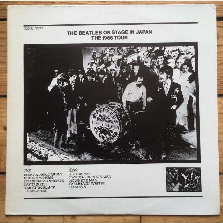 Beatles On Stage In Japan The 1966 Tour (Printed cover)