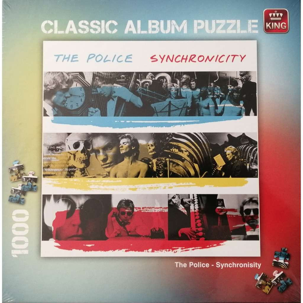 Police Synchronicity - Classic Album Puzzle