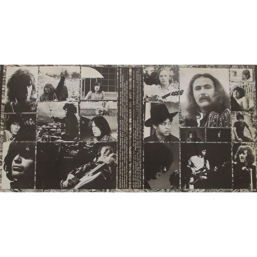 Crosby, Stills, Nash & Young déjà vu (gatefold)