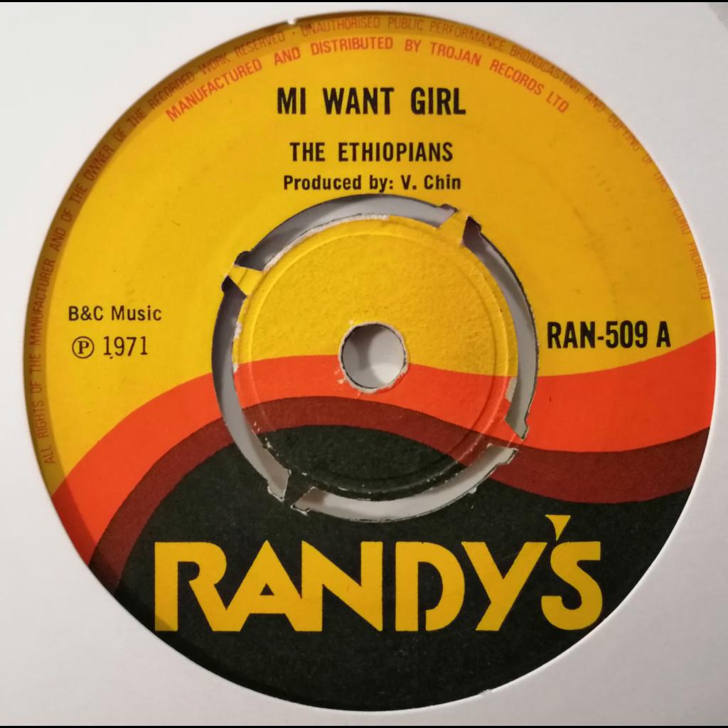 The Ethiopians Mi Want Girl (Rocksteady)