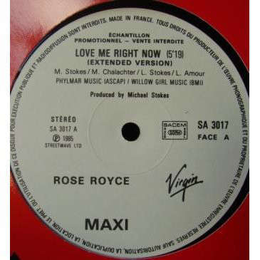 Rose Royce Love Me Right Now (extended version)