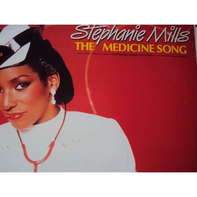 MILLS STEPHANIE THE MEDICINE SONG (LONG VERSION & CLUB VERSION) 1984 FRANCE