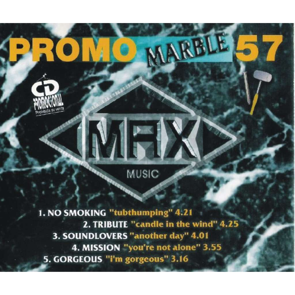 VARIOUS PROMO MARBLE 57