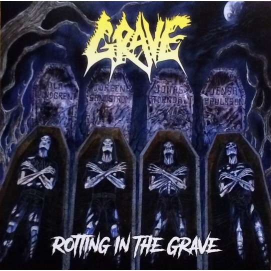 Grave Rotting In The Grave (lp) Ltd Edit 200 Copies -Usa