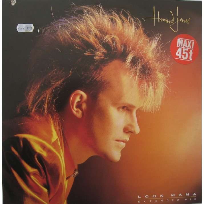 Howard Jones Look Mama (extended mix)/Learning how to love/Dream into action