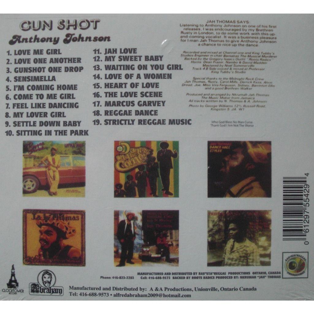 Anthony Johnson Gun Shot