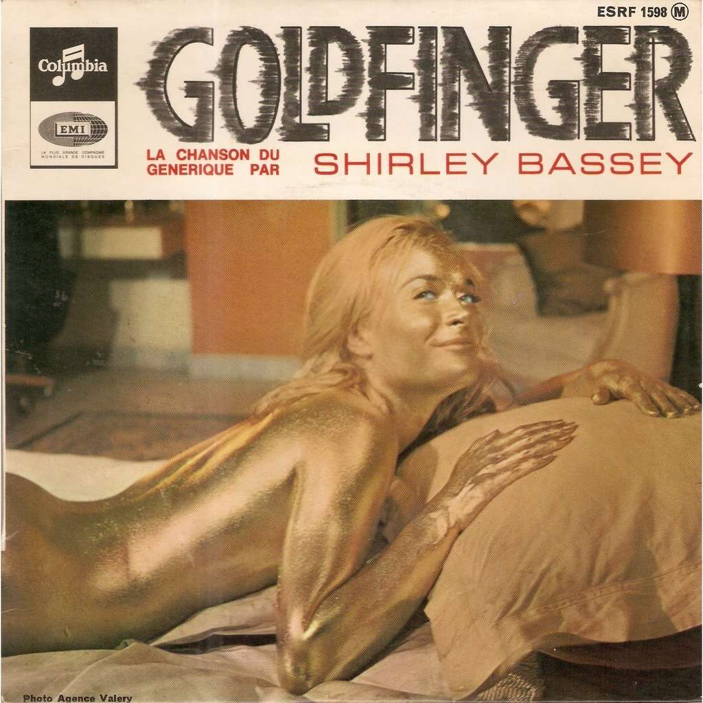 BASSEY Shirley GOLDFINGER / STRANGE HOW LOVE CAN BE