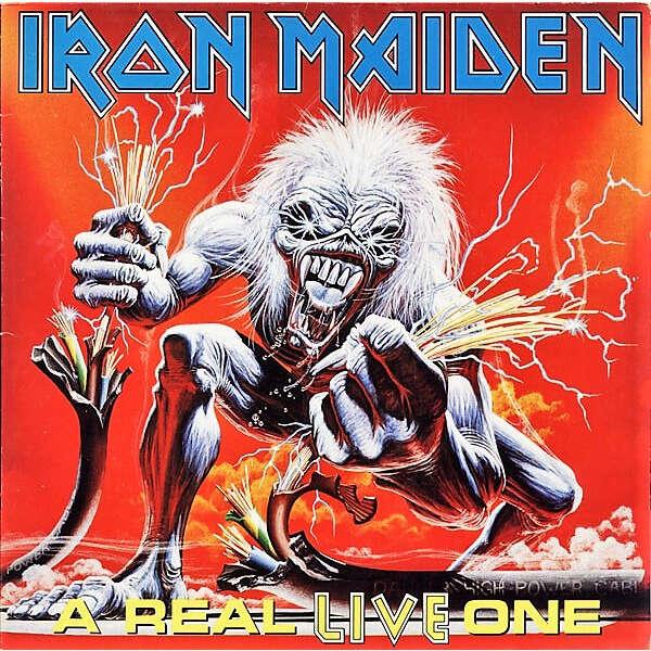 Iron Maiden A Real Live One (Italian 1993 original Ltd 11-trk LP full gf ps & inner slv- sealed copy!!)