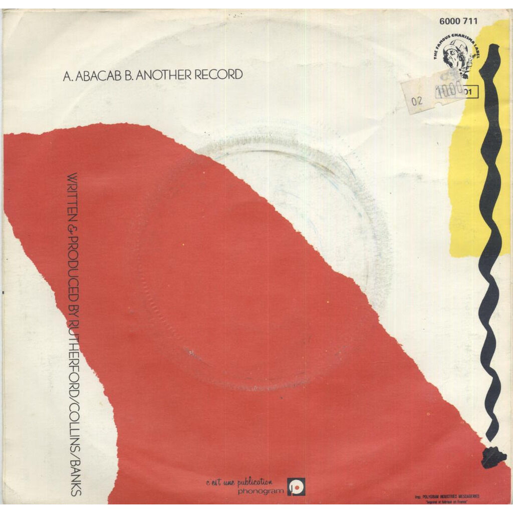 Genesis Abacab / Another Record