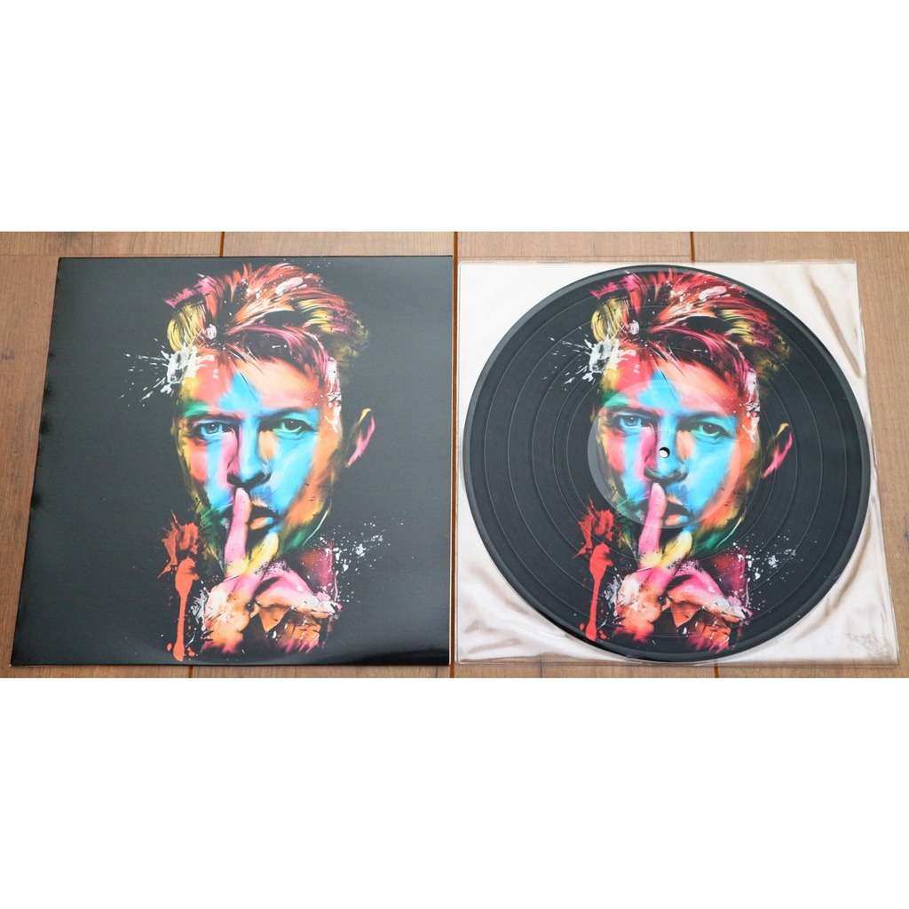 David Bowie The Man Who Play In Dublin / special limited edition picture disc for Ziggy Stardust Nippon