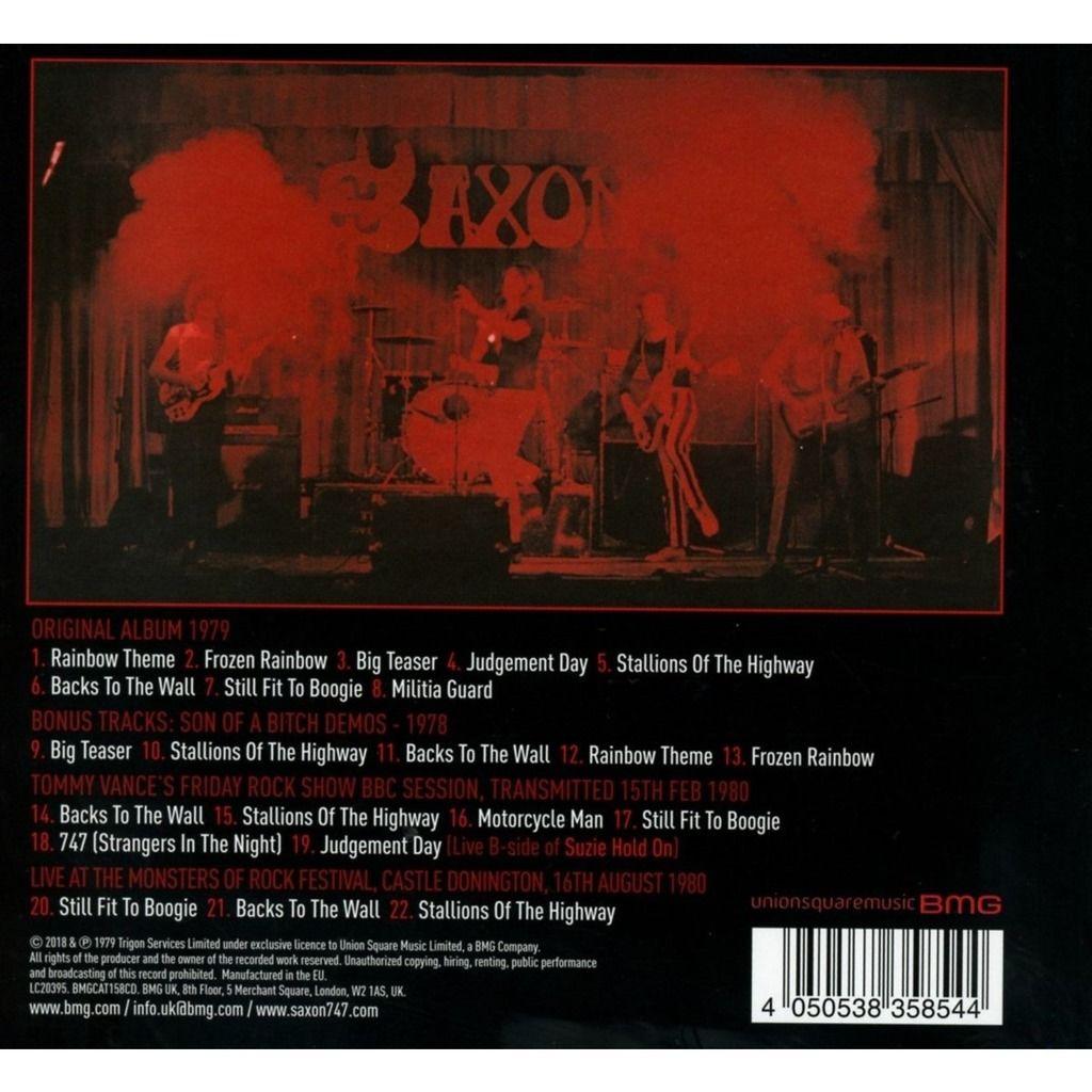 Saxon Saxon (cd) Ltd Edit Digibook -E.U