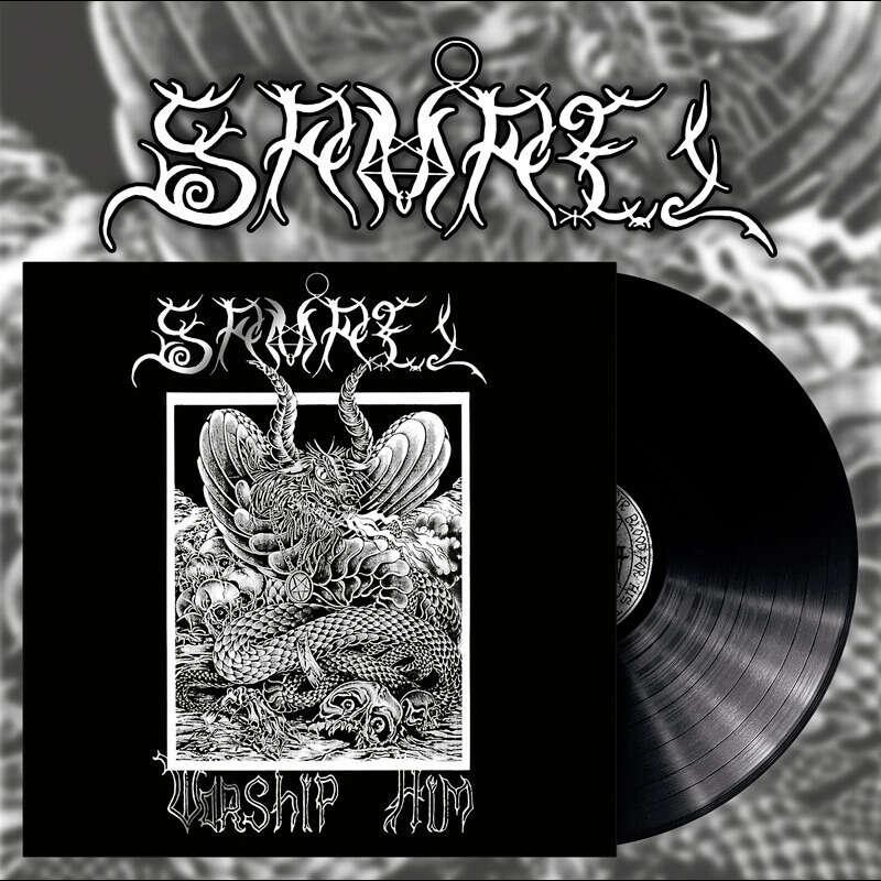 SAMAEL Worship Him. Black Vinyl