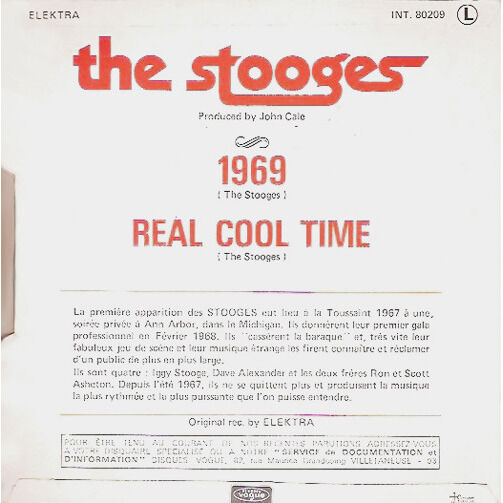 stooges 1969 / Real Cool Time