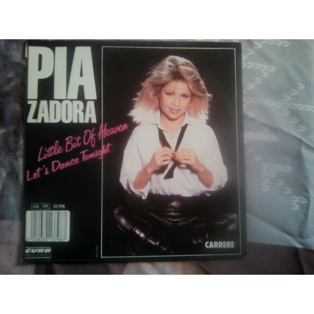 Pia Zadora - Little Bit Of Heaven / Let's Dance To Pia Zadora - Little Bit Of Heaven / Let's Dance Tonight (7)