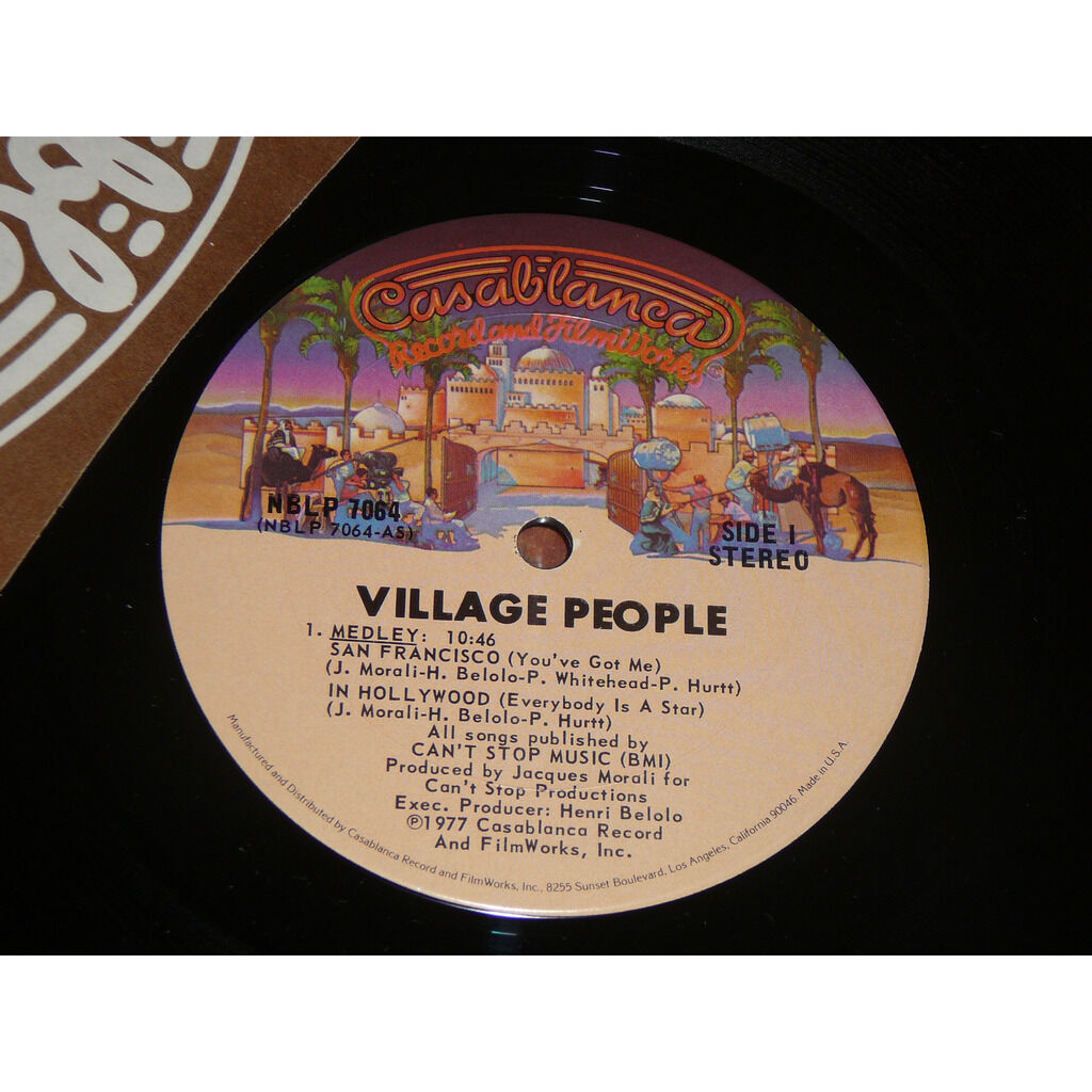 village people medley san francisco / in hollywood / can't stop the music