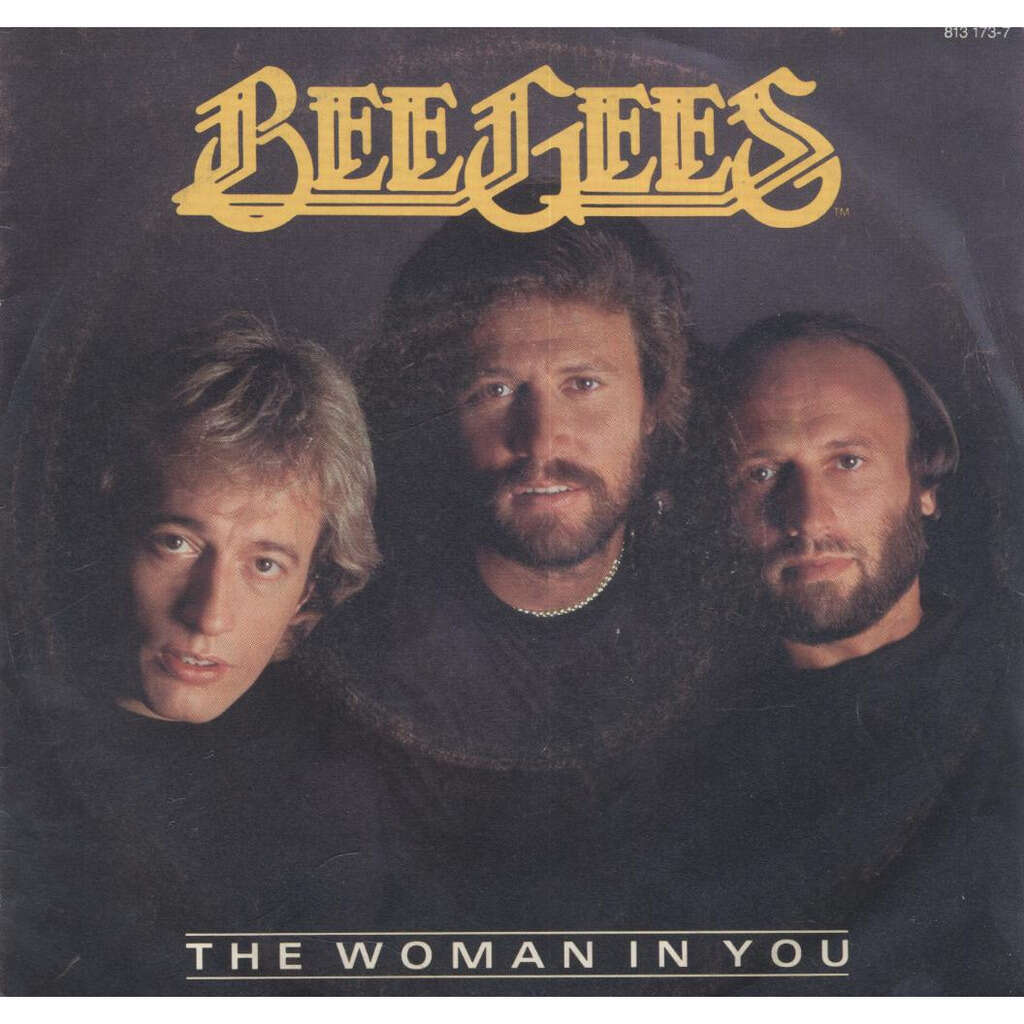 bee gees the woman in you / Stayin' Alive