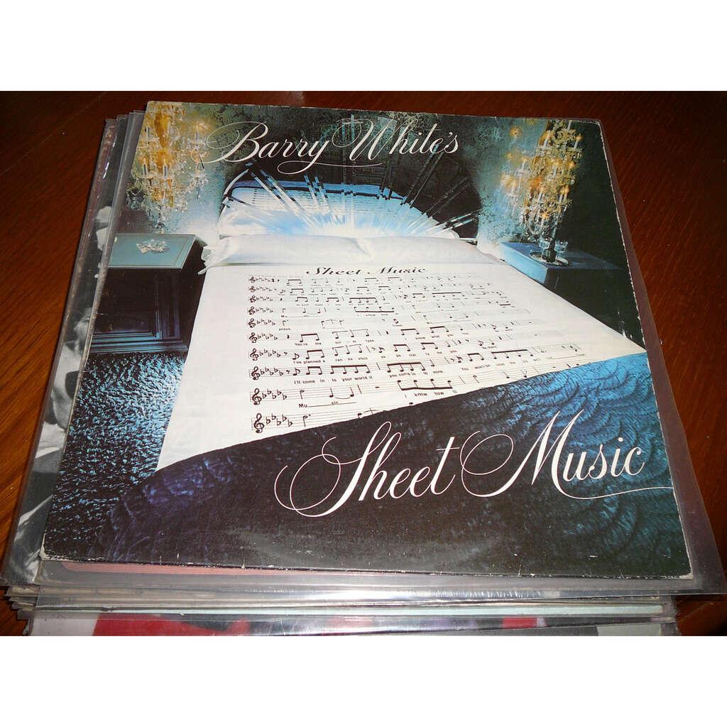 BARRY WHITE SHEET MUSIC